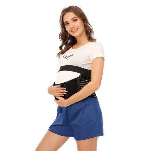 Ceinture de grossesse Bande abdominale réglable Bande abdominale